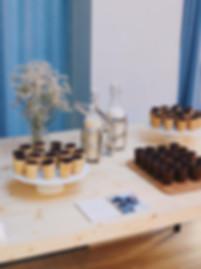 Traiteur événementiel contenants comestibles Les Petites Françaises