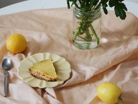 Recette facile de Tarte au citron à la poudre de tasses Fleur de Sel