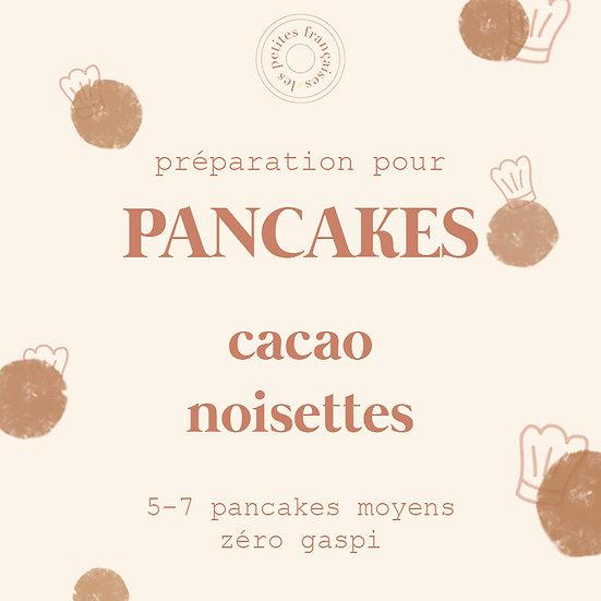 Préparation pour Pancakes zéro gaspi | Cacao Noisettes | 450g