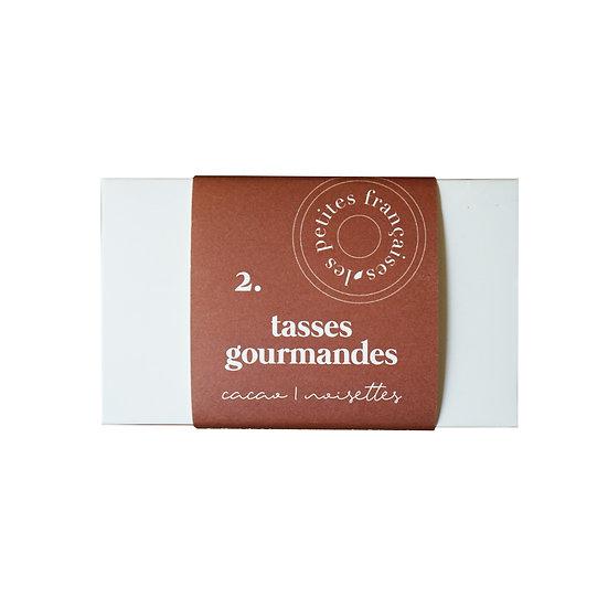 Coffret Cacao Noisettes (x2) - Les Petites Françaises - Tasses gourmandes Made in France