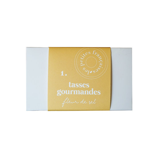 Coffret Fleur de Sel (x2) - Les Petites Françaises - Tasses gourmandes Made in France