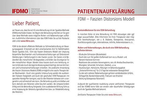 Patientenaufklärung FDM