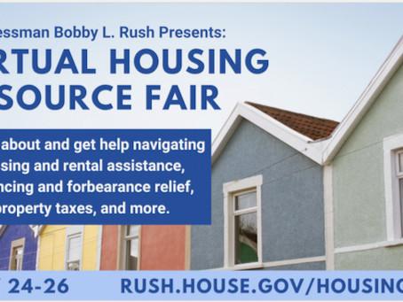 Congressman Bobby L. Rush's Housing Resource Fair & more