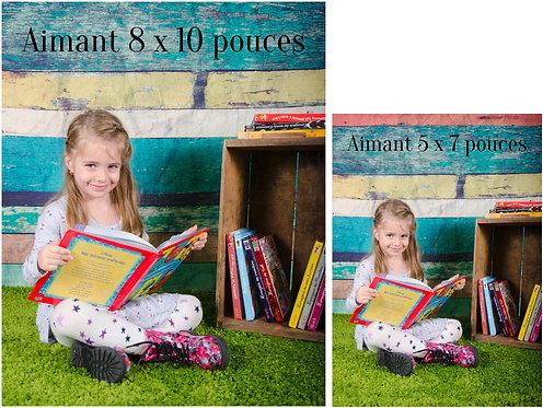 VV - Aimant 8 x 10 pouces