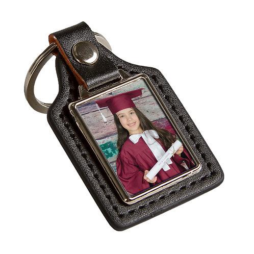 Y - Porte-clé en cuir