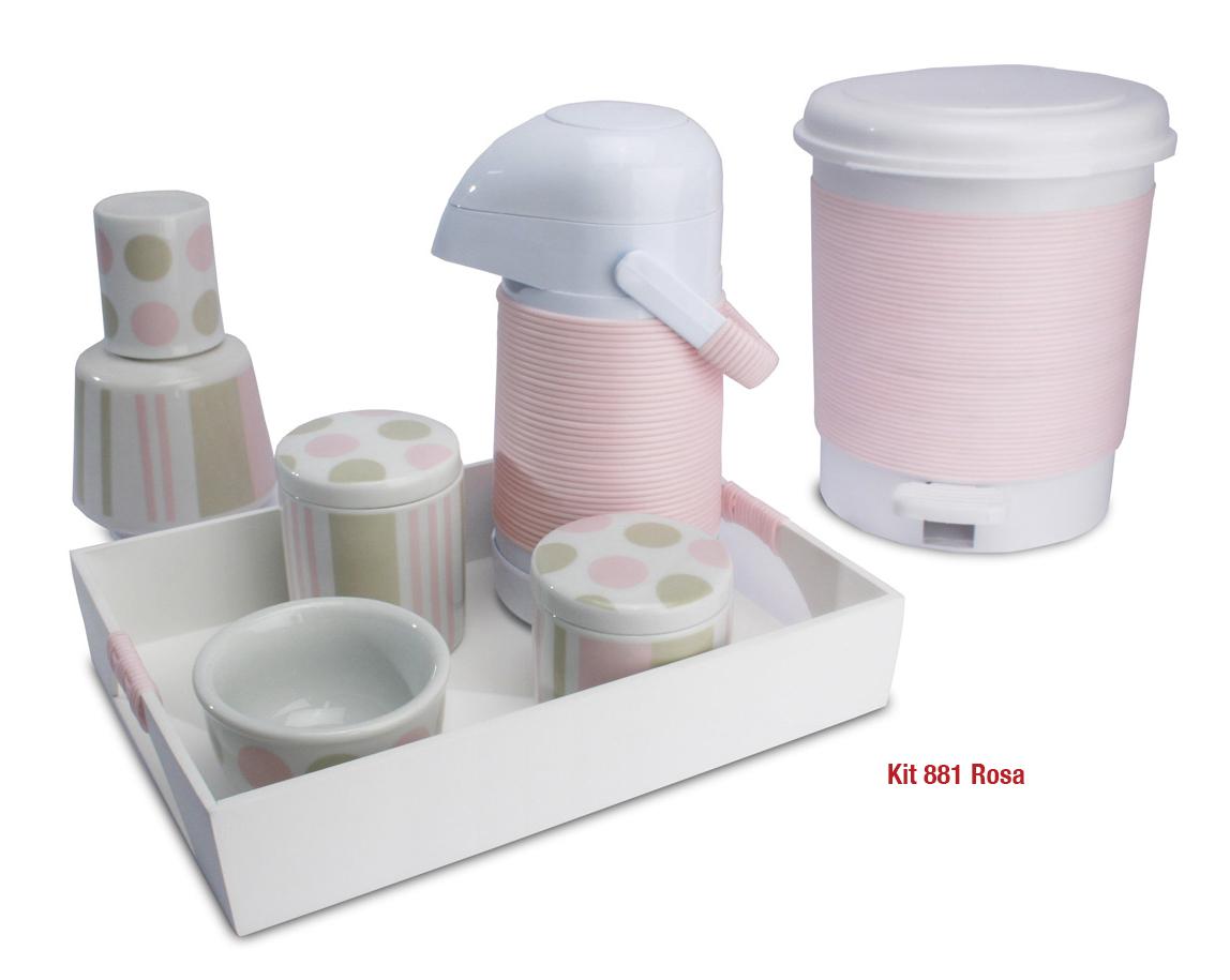 Kit 881 Bola Rosa