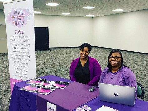 Hearts Over Habits, Inc. at the Circuit 10 Human Trafficking Symposium in Lakeland