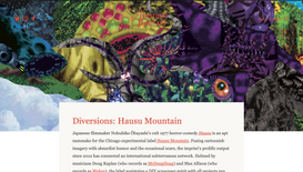 Aquarium Drunkard: Diversions: Hausu Mountain