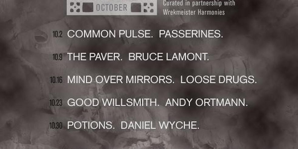 Comfort Music Presents: Good Willsmith + Andy Ortmann + Wrekmeister Harmonies