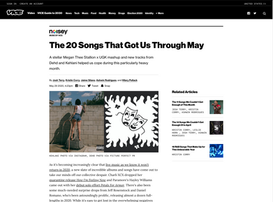 Vice Noisey: The 20 Songs That Got Us Through May - 'Conveyor' from TALsounds 'Acquiesce'