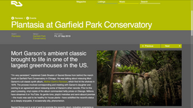 Resident Advisor: Plantasia at Garfield Park Conservatory