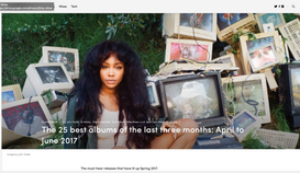 FACT Magazine: The 25 best albums of the last three months: April to June 2017