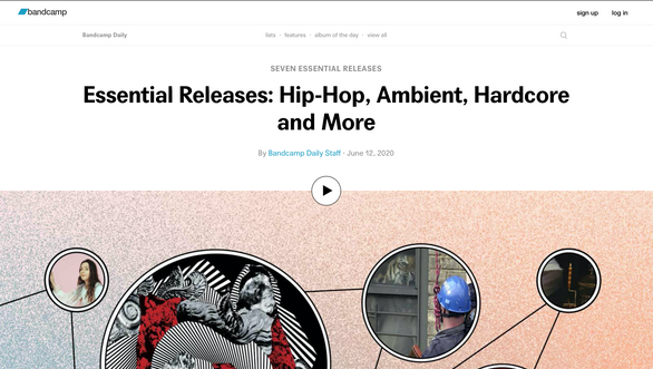 Bandcamp: Essential Releases: Hip-Hop, Ambient, Hardcore and More