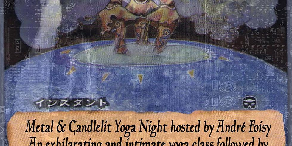 Metal & Candlelight Yoga with Good Willsmith Drone Bath