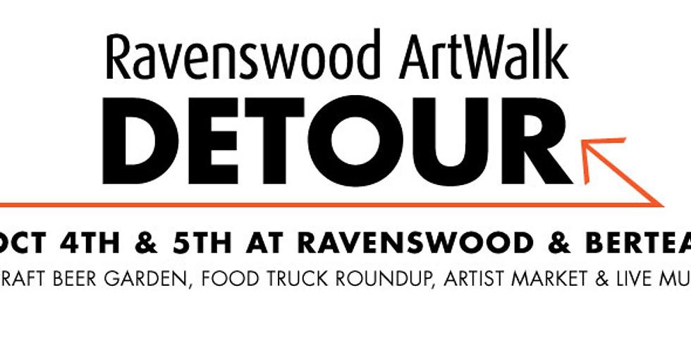 Ravenswood ArtWalk Detour