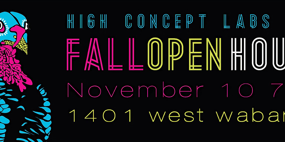 Good Willsmith @ High Concept Laboratories: Fall Open House 2012