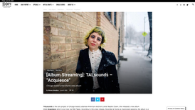 """Son Of Marketing: [Album Streaming]: TALsounds – """"Acquiesce"""""""