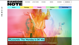 Ransom Note: TALsounds: The 'Monday Is OK' Mix