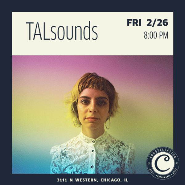 Walder Foundation Commission: TALsounds at Constellation