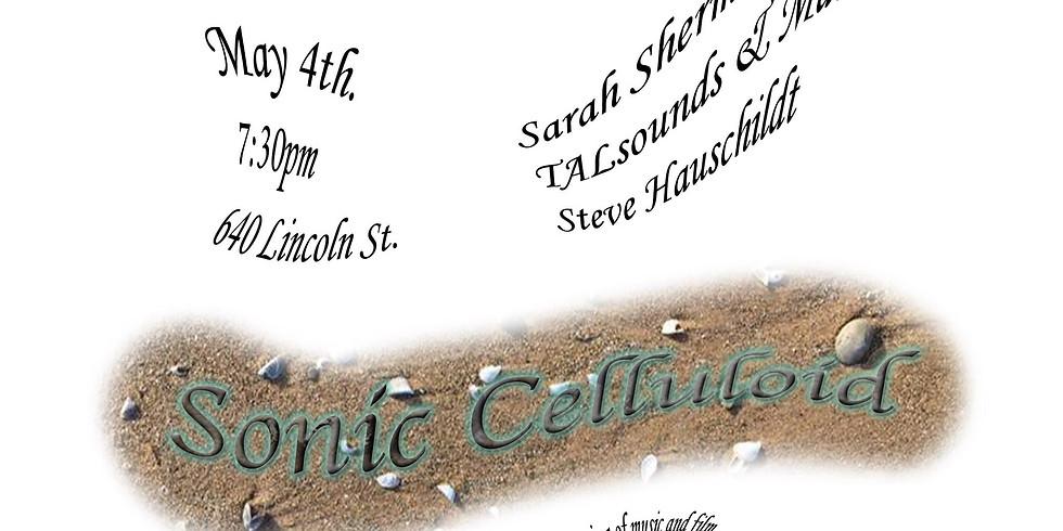 Northwestern University WNUR's Sonic Celluloid XIV: TALsounds + Matchess ▲ Steve Hauschildt ▲ Sarah Squirm