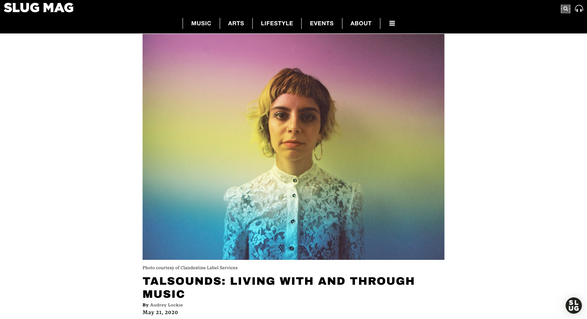 TALSOUNDS: LIVING WITH AND THROUGH MUSIC