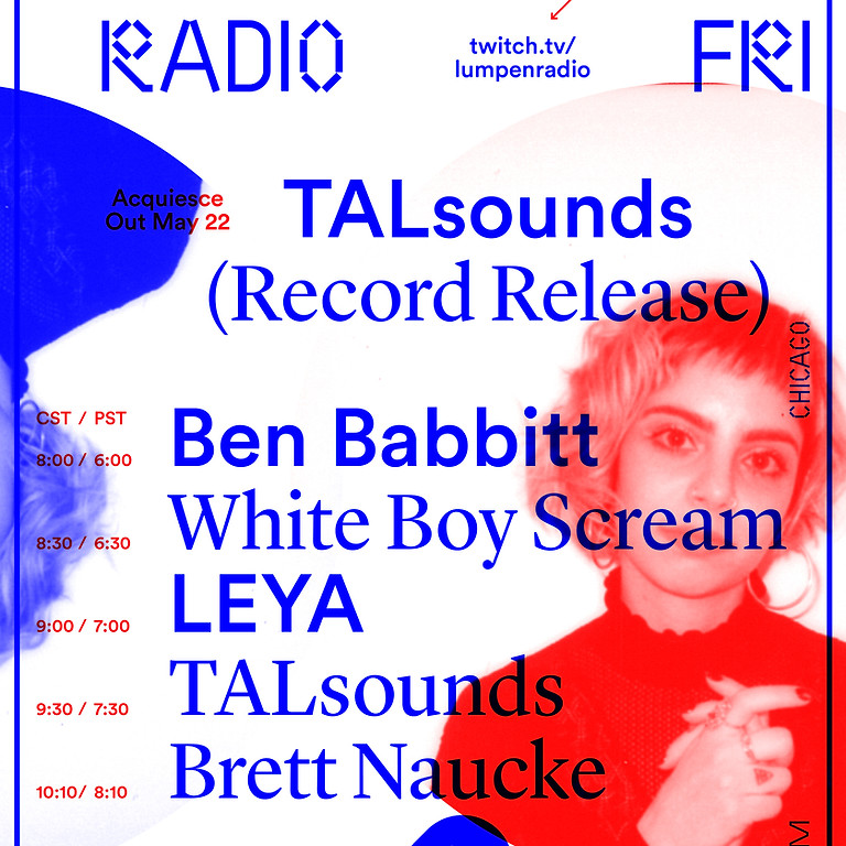 VIRTUAL TALsounds 'Acquiesce' Release Show!
