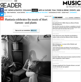 The Chicago Reader: Plantasia celebrates the music of Mort Garson—and plants