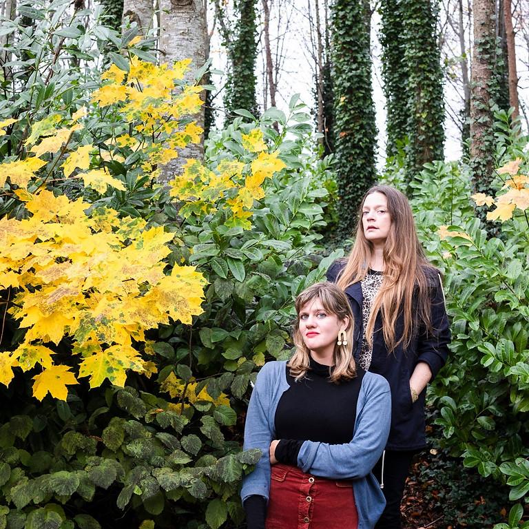 Meg Baird and Mary Lattimore ▲ Damiana