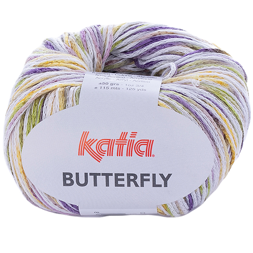 KATIA Bändchengarn Butterfly