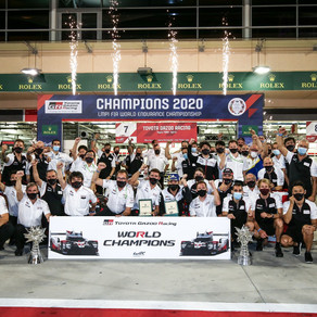 Mike Conway crowned FIA WEC World Champion