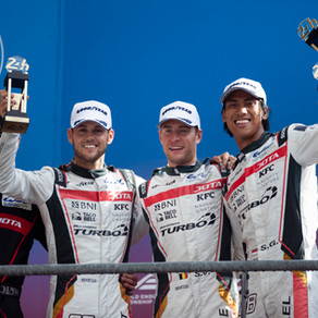 Blomqvist storms to the podium in Le Mans thriller