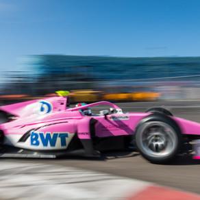 Jake Hughes impresses on FIA Formula Two debut