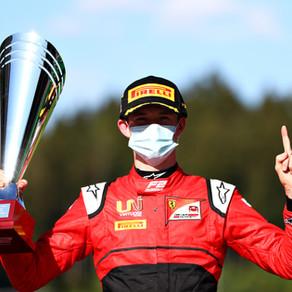 Callum Ilott takes maiden FIA F2 win