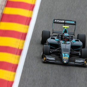 Poor fortunes for Jake Hughes at Spa-Francorchamps