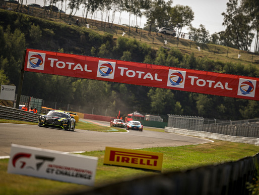 PAFFETT EARNS P20 FINISH AT 24 HOURS OF SPA