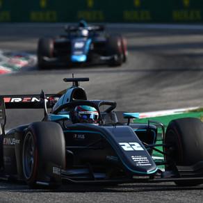 Hughes completes FIA F2 return at Monza