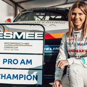 Double podium secures 2020 Porsche Carrera Cup GB Pro-Am title for Hawkey