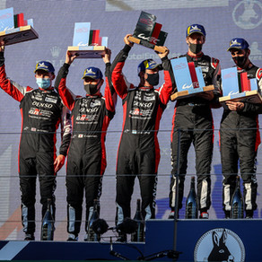 Conway claims second-place podium at Portimão