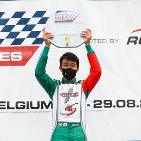 Kanato Le crowned 2021 IAME Euro Series Junior X30 Champion