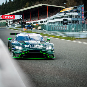 Watson in the points at Spa-Francorchamps