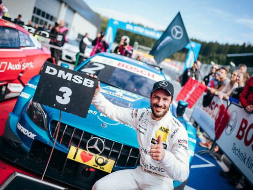 PODIUM FOR PAFFETT SETS UP THRILLING FINALE
