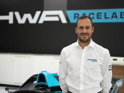 GARY PAFFETT TAKES ON THE ABB FIA FORMULA E CHAMPIONSHIP WITH HWA RACELAB
