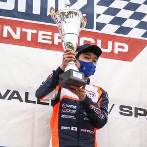 Kanato Le storms to first European pole and podium