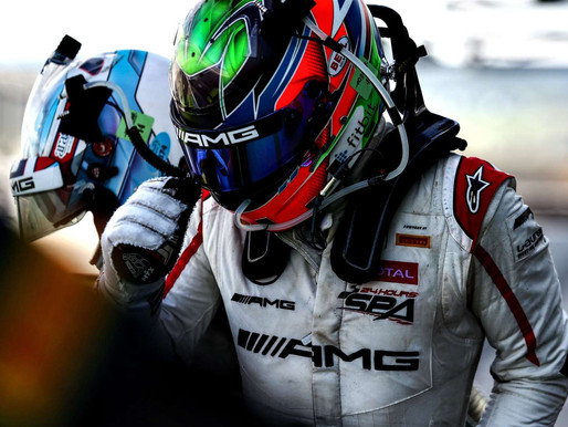 DISAPPOINTING END TO THE KYALAMI 9 HOUR FOR GARY PAFFETT