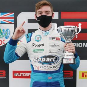 Louis Foster scores maiden BRDC British F3 victory at Donington Park