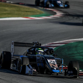 Further podium success for Foster in Barcelona