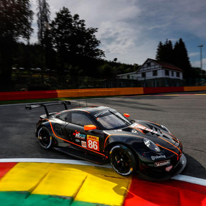 Watson in the points at sodden Spa-Francorchamps
