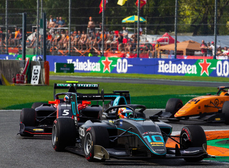 Frustration for Viscaal in Monza
