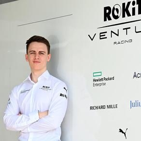 Jake Hughes unveiled as ROKiT Venturi Racing Reserve Driver