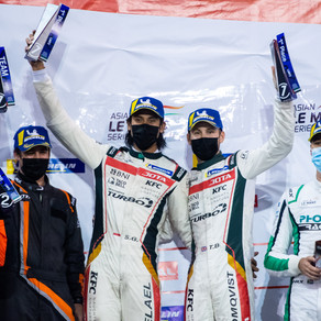 Blomqvist and Gelael seal Abu Dhabi double